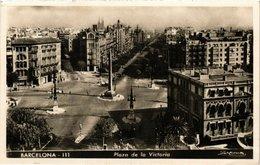 CPA Espagne Barcelona-Plaza De La Victoria (317892) - Barcelona