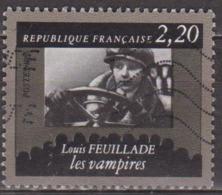 Cinéma, Films - FRANCE - Cinquantenaire De La Cinémathèque - Louis Feuillade: Les Vampires - N° 2433 - 1986 - Used Stamps