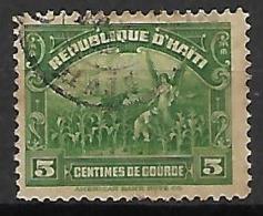 HAITI    -    1920 .   Y&T N° 249  Oblitéré. - Haiti