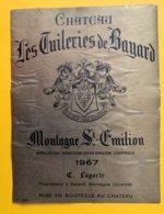 11975 - Château Les Tuileries De Bayard 1967 Montagne Saint Emilion - Bordeaux