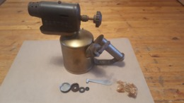 Soldeerlamp Barthel 312, Zeldzaam Model - Strumenti
