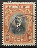 HAITI    -    1924 .   Y&T N° 255  Oblitéré. - Haïti