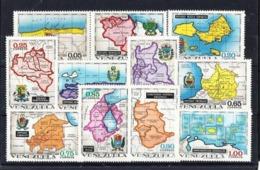 Venezuela 825/35 Nuevo - Venezuela