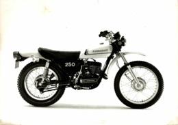 Kawasaki 250 +-16cm X 12cm  Moto MOTOCROSS MOTORCYCLE Douglas J Jackson Archive Of Motorcycles - Altri