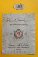 11980 - Haut-Sauternes 1955 Cruse Et Fils - Bordeaux