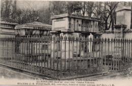 CP 75 Paris Cimetière Père Lachaise La Fontaine Jean De Molière Tombeaux Historiques 1T JH Boisson - Other Monuments