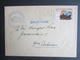 """2158 - Beroepsjournalisten - Alleen Op Drukwerk, """"Kon. Katolieke Stedelijke Harmonie Lokeren"""" - Lettres & Documents"""