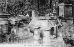 CP 75 Paris Cimetière Père Lachaise La Fontaine Molière Tombeaux 1734 LL - Other Monuments
