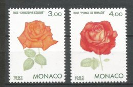 MONACO ANNEE 1992 N° 1839 1840 NEUFS** NMH - Monaco