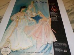 ANCIENNE PUBLICITE MARQUE DU TREPHE POUR TOUS VALISERE 1960 - Vintage Clothes & Linen