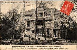 CPA MORSANG-sur-ORGE - Parc Beausejour - Villa L'Hermitage (384876) - Morsang Sur Orge