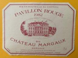 11985 - Pavillon Rouge Du Château Margaux 1982 - Bordeaux