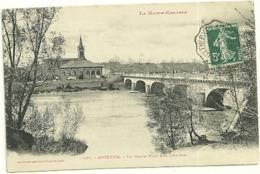 GARONNE / Haute - Dépt N° 31 = AUTERIVE 1907 =  CACHET Crénelé AMBULANT  AX Les THERMES à Toulouse + CPA LABOUCHE N° 436 - Poststempel (Briefe)