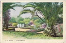 MAROC - RABAT - JARDIN D'ESSAIS - Carte Colorisée - Rabat