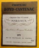 11988 - Château Boyd-Cantenac 1975 Margaux - Bordeaux
