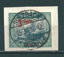 Saar MiNr. 70 B, Gez. L 10½  (r13) - Gebraucht