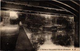 CPA L'YERRES A VILLENEUVE-St-GEORGES (390120) - Frankreich