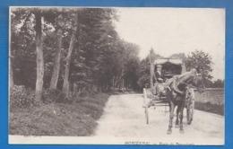 60 - MORIENVAL - ATTELAGE ROUTE DE PIERREFONDS - Frankreich