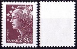 VARIETE N°4478 MARIANNE DE BEAUJARD 2,30€ BRUN-PRUNE SANS PHOSPHORE TOTAL LUXE - Variétés Et Curiosités