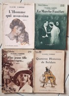 CLAUDE FARRERE: Lot 4 Ouvrages Différents. Collection SELECT COLLECTION. Bon état - Livres, BD, Revues