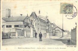 MALO-LES-BAINS - Avenue About - Entrée Du Casino Municipal - Malo Les Bains