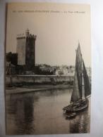 Carte Postale Les Sables D'Olonne (85) La Tour D'Arundel (Petit Format Noir Et Blanc Non Circulée ) - Sables D'Olonne