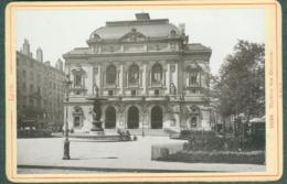Photo Fin XIXème 69 Rhône Lyon Théatre Des Célestins Tirage Albuminé Ca. 1899 - Photos