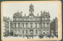 Photo Fin XIXème 69 Rhône Lyon Hôtel De Ville Tirage Albuminé Ca. 1899 - Photos