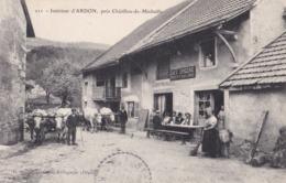 INTERIEUR ARDON PRES DE CHATILLON DE MICHAILLE ( Café épicerie Pellet )  PRIX FIXE - France