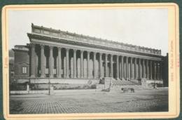 Photo Fin XIXème 69 Rhône Lyon Palais De Justice Tirage Albuminé Ca. 1899 - Photos