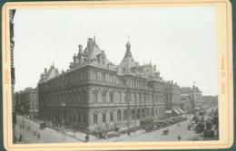 Photo Fin XIXème 69 Rhône Lyon La Bourse Tirage Albuminé Ca. 1899 - Photos