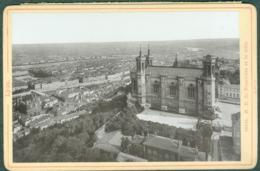 Photo Fin XIXème 69 Rhône Lyon Notre-Dame De Fourvière Et La Ville Tirage Albuminé Ca. 1899 - Photos