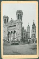 Photo Fin XIXème 69 Rhône Lyon Sanctuaire De Notre-Dame De Fourvière Tirage Albuminé Ca. 1899 - Photos