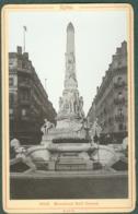 Photo Fin XIXème 69 Rhône Lyon Monument Sadi Carnot Tirage Albuminé Ca. 1899 - Photos