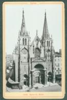 Photo Fin XIXème 69 Rhône Lyon Eglise Saint-Nizier Tirage Albuminé Ca. 1899 - Photos