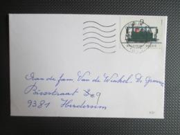 2170/71 - Stoomtreinen - Op 2 Brieven & 1 PK - Lettres & Documents