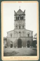 Photo Fin XIXème 69 Rhône Lyon Eglise D' Ainay Tirage Albuminé Ca. 1899 - Photos