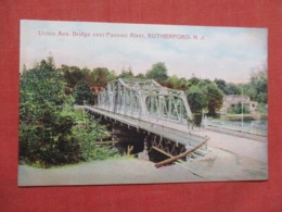 Union Ave. Bridge  Rutherford  New Jersey   Ref 3677 - United States