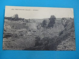 53 ) Chattemoue : N° 1684 - Ardoisières -   Année 1923 - EDIT - - France