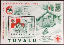 Tuvalu 1988 Red Cross Minisheet MNH - Tuvalu