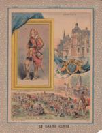 """Ce Ci N Est Pas Un Protège Cahier Mais Une Couverture De Cahier D'écolier (18x22) 4 Pages  """"Le Grand Condé"""" - Book Covers"""