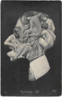 ARCHIBOLDO -ALPHONSE XIII - Portrait Effectué Avec Des Femmes Nues - Carte Photo - Illustrateurs & Photographes