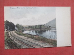 Rotograph-- Hand Colored-- Naugatuck River Above Seymour Connecticut >  Ref 3677 - United States