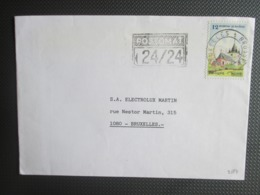 2179 & 2181 - Toerisme - Alleen Op 2 Brieven - Lettres & Documents