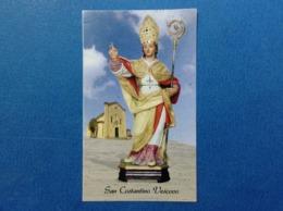SANTINO HOLY CARD SAN COSTANTINO VESCOVO - Santini