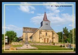 08  SY  ...  Façade De L'eglise  Et Les Monuments ! - Frankrijk