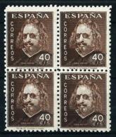 España Nº 989 (bloque-4) Nuevo - 1931-50 Nuevos & Fijasellos