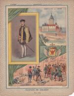 """Ce Ci N Est Pas Un Protège Cahier Mais Une Couverture De Cahier D'écolier (18x22) 4 Pages  """"Gaspard De Coligny"""" - Book Covers"""