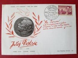 """Belgique-België - FDC N°1269 """"Centenaire De La Naissance De Jules Destrée"""" - ....-1951"""