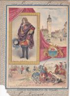 """Ce Ci N Est Pas Un Protège Cahier Mais Une Couverture De Cahier D'écolier (18x22) 4 Pages  """"Claude Louis De Villars"""" - Book Covers"""